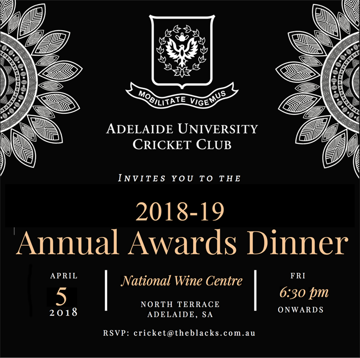 2018- 19  Annual  Awards  Dinner AUCC