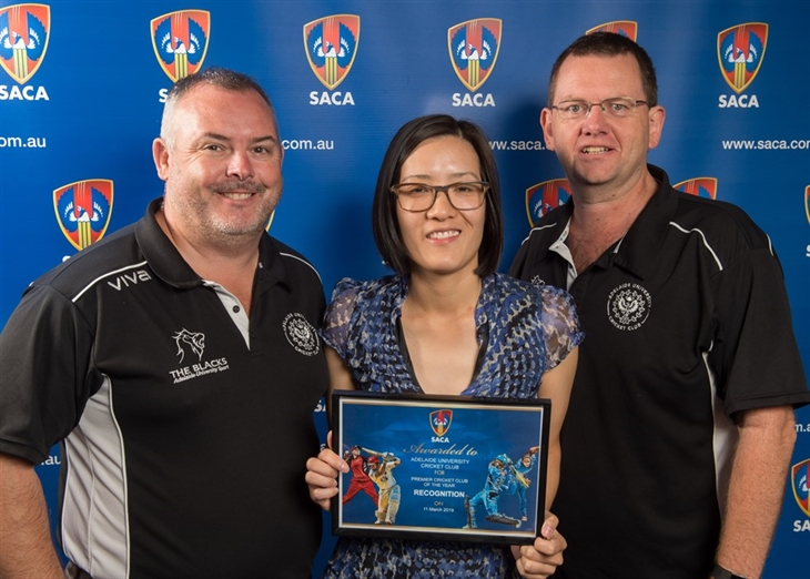 SACA  Premier  Club  Recognition 2019