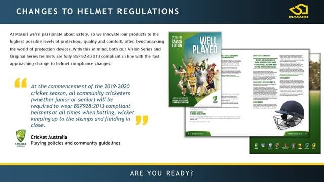 2018 06 CA  Helmets  Regulations