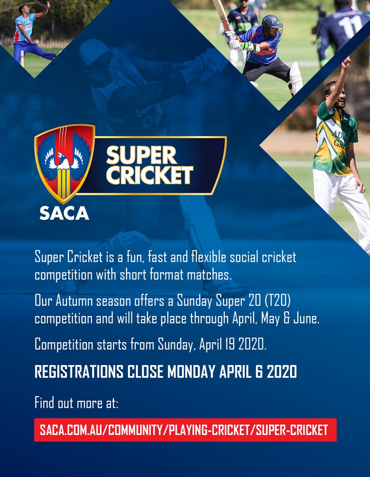 Super  Cricket  Autumn 2020